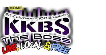KKBS THE BOSS logo